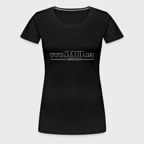 iSauf Logo 3 - Frauen Premium T-Shirt