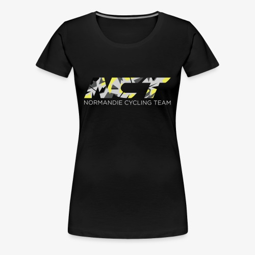 LOGO NCT CAMO - T-shirt Premium Femme