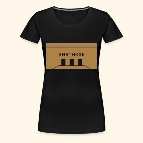 Rehobothkerk Rotterdam - Vrouwen Premium T-shirt