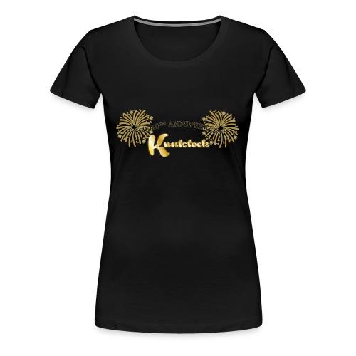 KnutstockAnniversaryLogo Firework - Frauen Premium T-Shirt