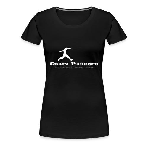 CHAIN PK OFFICIAL - Maglietta Premium da donna