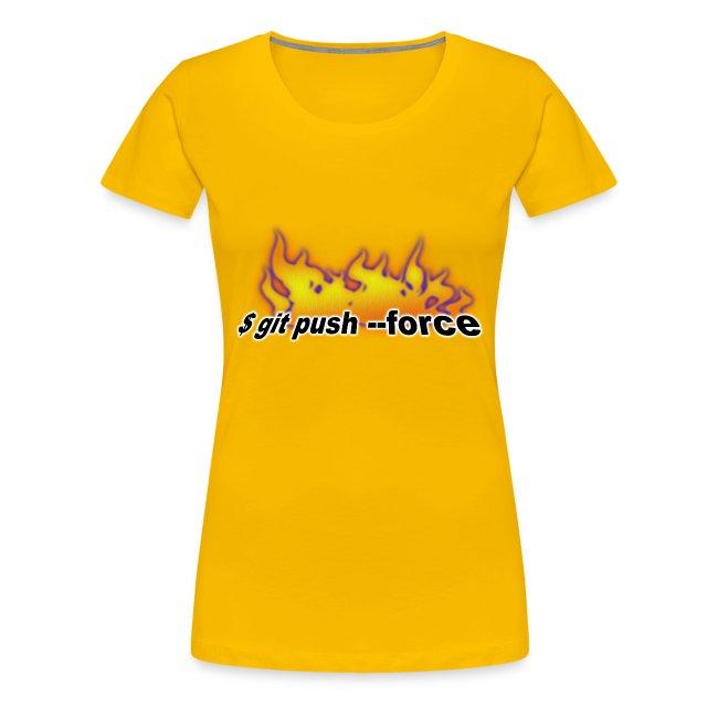 git push force