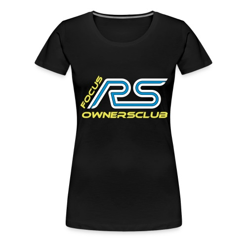 logo focus rs ownersclub shirt cmyk - Frauen Premium T-Shirt