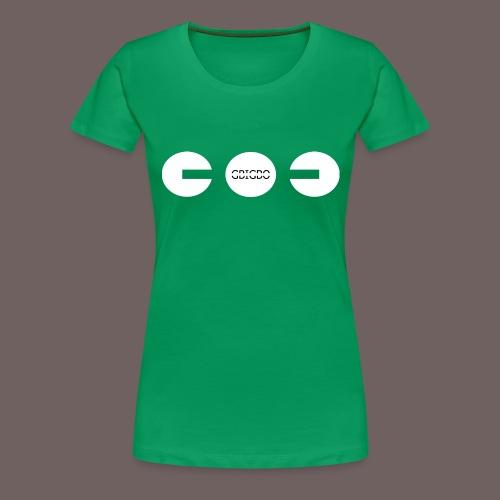 GBIGBO zjebeezjeboo - Fun - Packman 01 - T-shirt Premium Femme