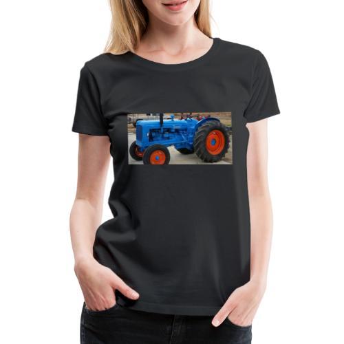 Traktor - Dame premium T-shirt