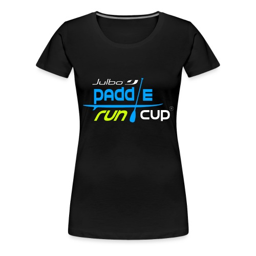 SPREADSHIRT_Logos_Paddle_Run_v3_-3- - T-shirt Premium Femme