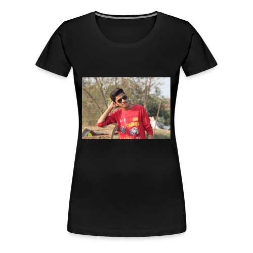 IN SIDDIPET MODEL NAZEER SMART ACTER - Women's Premium T-Shirt