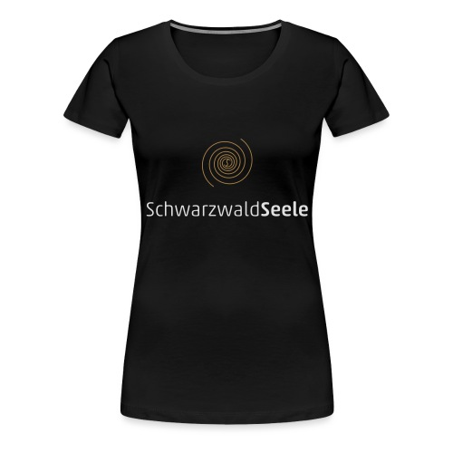 SchwarzwaldSeele Logo we - Frauen Premium T-Shirt