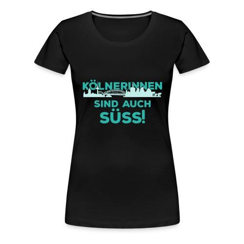 Für alle Kölnerinnen und Kölnfans! - Frauen Premium T-Shirt