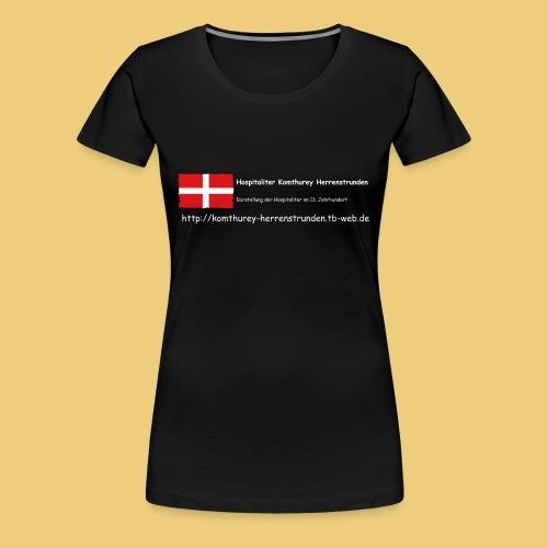 dunkel - Frauen Premium T-Shirt