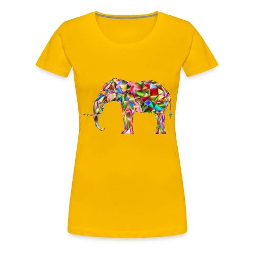 Gestandener Elefant - Frauen Premium T-Shirt