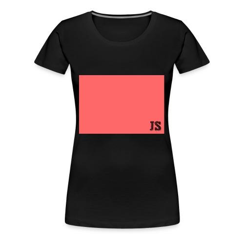 JustSquares Roze - Vrouwen Premium T-shirt