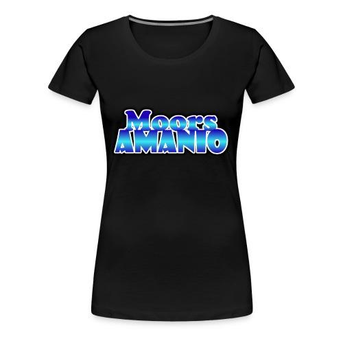 MoorsAmanioLogo - Vrouwen Premium T-shirt