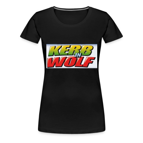 Logo Kerb in Wolf 3 - Frauen Premium T-Shirt