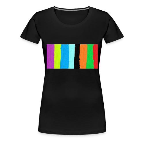 rendom - Premium-T-shirt dam