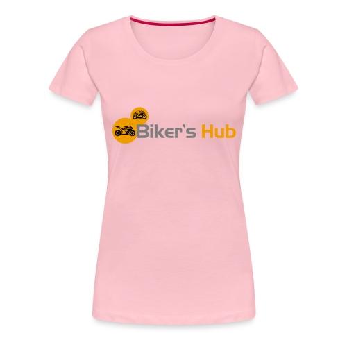 Biker's Hub Logo - Women's Premium T-Shirt