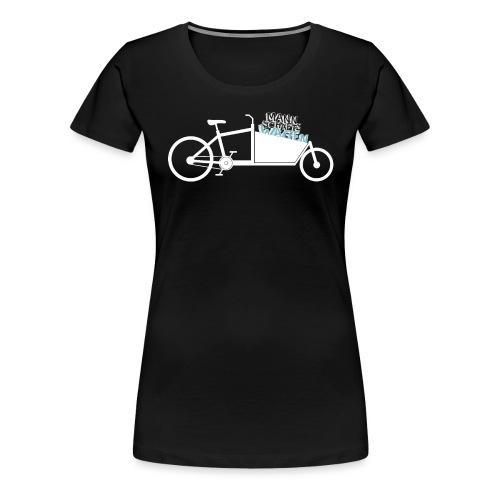 Lastenrad als Mannschaftswagen - Frauen Premium T-Shirt