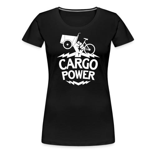 Lastenrad Cargo Power - Frauen Premium T-Shirt