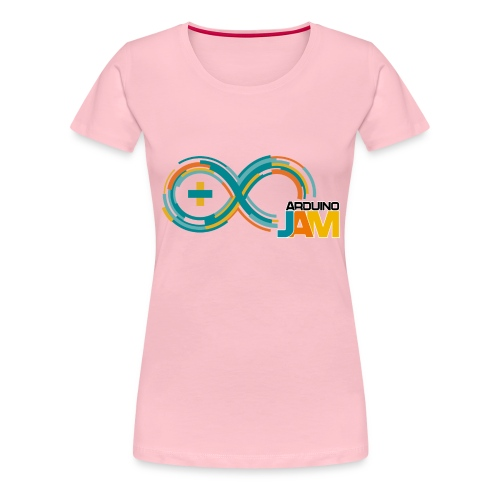 T-shirt Arduino-Jam logo - Women's Premium T-Shirt