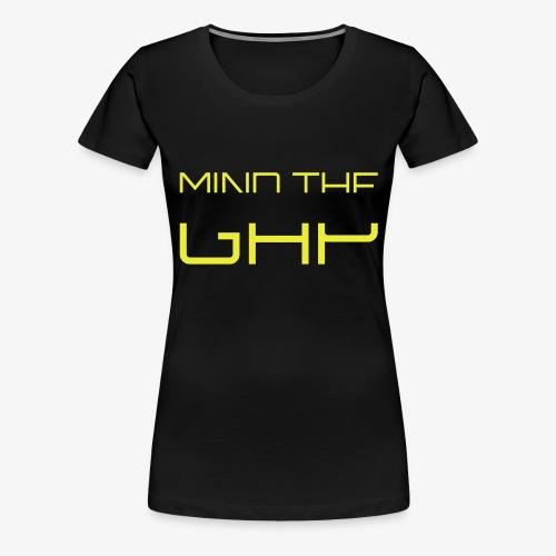 mind_the_gap - Frauen Premium T-Shirt