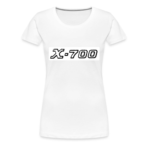 Minolta X-700 White - Maglietta Premium da donna