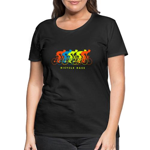 Cool bicycle race design - Vrouwen Premium T-shirt