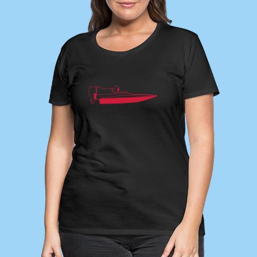 Powerboat GT30/GT15 Red - Premium-T-shirt dam