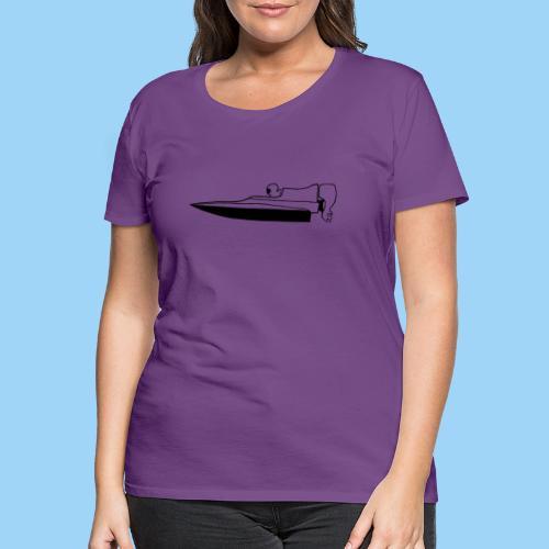 Powerboat GT30/GT15 Black flip - Premium-T-shirt dam