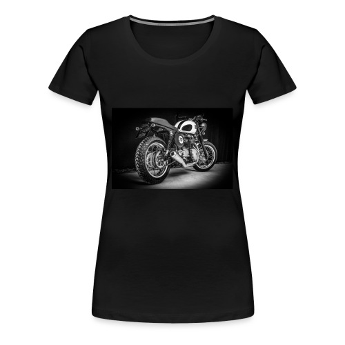 Monia's Thruxton 'Performance Scrambler' - Women's Premium T-Shirt