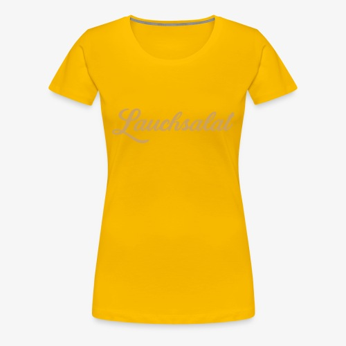 PorrOro - Frauen Premium T-Shirt
