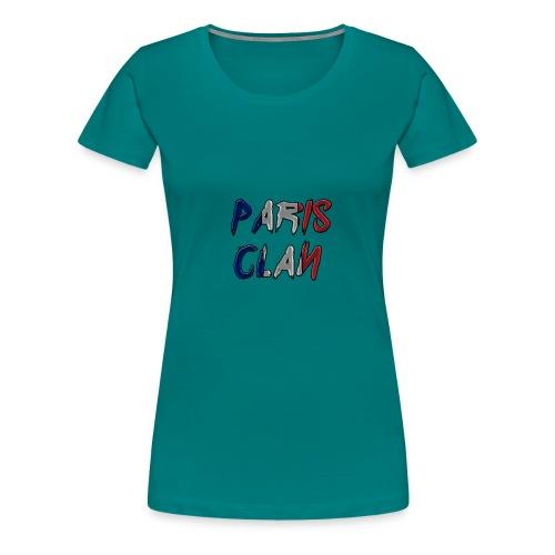 Parisclan Lettering - Women's Premium T-Shirt