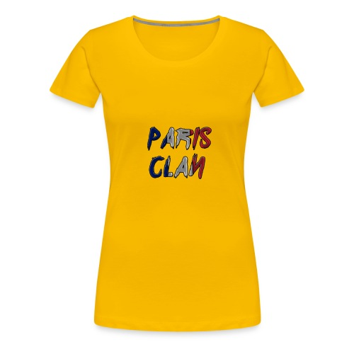 Parisclan Lettering - Women's Premium T-Shirt