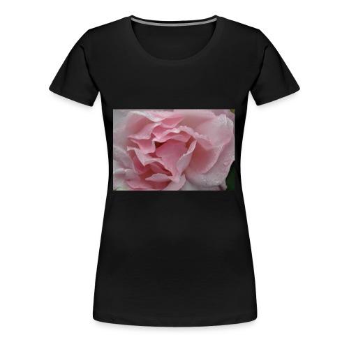 Water Droplet Rose - Women's Premium T-Shirt
