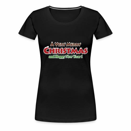 _Merry Christmas_ - Frauen Premium T-Shirt