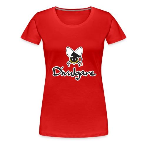 Logo oficial de Divulgare - Camiseta premium mujer