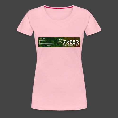 Kalibershirt 7x65R für Jäger und Schützen - Frauen Premium T-Shirt