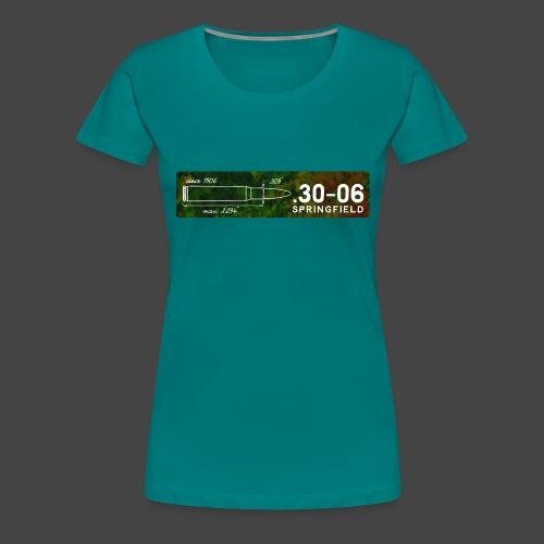 Kalibershirt .30-06 für Jäger und Schützen - Frauen Premium T-Shirt
