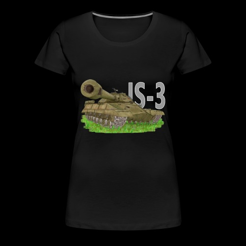 IS-3 (Writing) - Maglietta Premium da donna