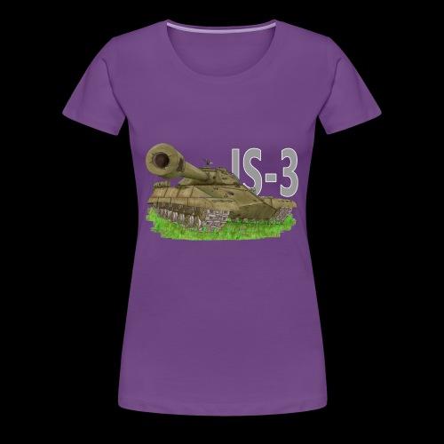 IS-3 (Writing) - Maglietta Premium da donna