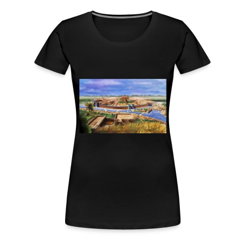 photo - T-shirt Premium Femme