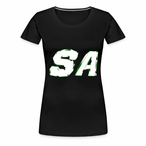 Vit SA Logo - Premium-T-shirt dam