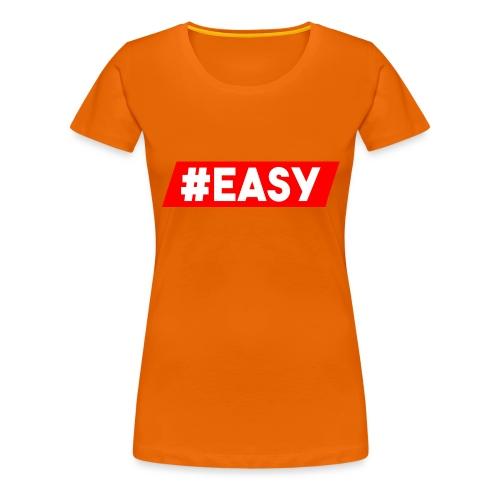 #EASY Classic Logo Snapback - Maglietta Premium da donna