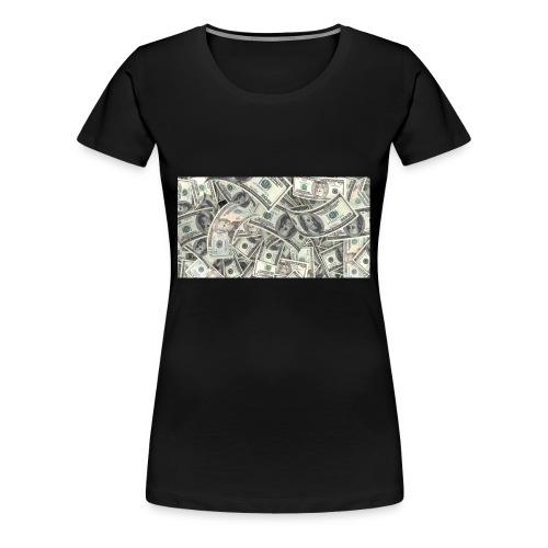 dollar - Premium-T-shirt dam