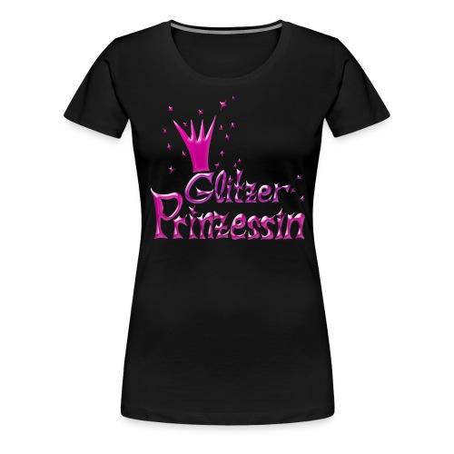 Rosa Glitzer Prinzessin - Frauen Premium T-Shirt