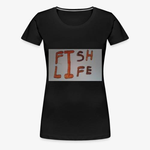Fish Life - Women's Premium T-Shirt