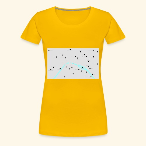 Paris - Maglietta Premium da donna