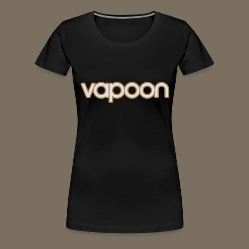 Vapoon Logo simpel 2 Farb - Frauen Premium T-Shirt