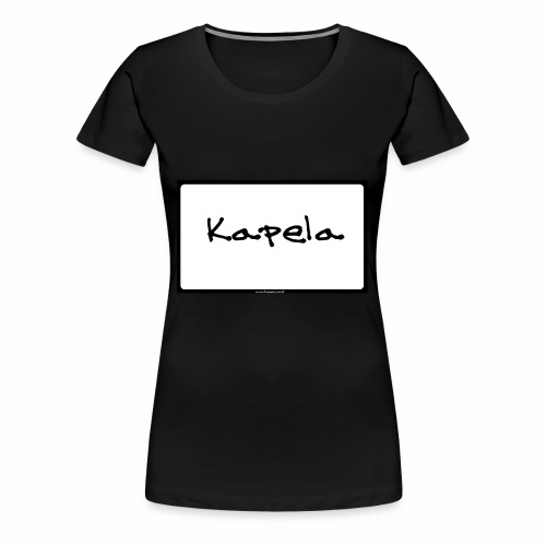 Old Kapela Design - Women's Premium T-Shirt