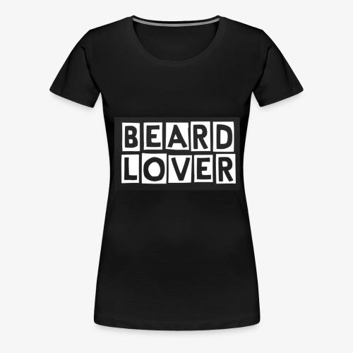 BEARD LOVER - Premium-T-shirt dam
