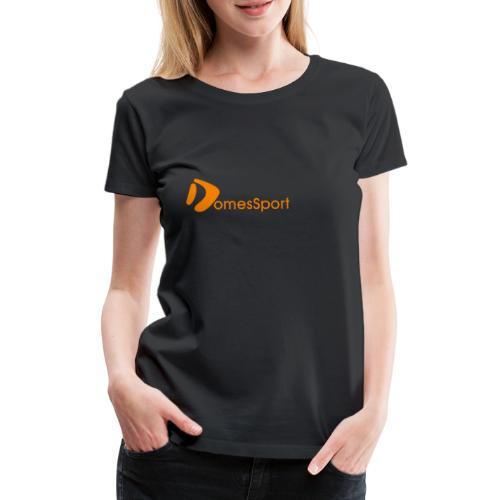 Logo DomesSport Orange noBg - Frauen Premium T-Shirt